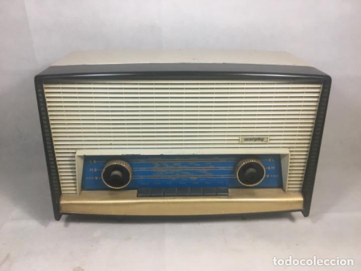 Radios de válvulas: Radio MURPHY U506. Gran Bretaña 1959. Funcionando - Foto 3 - 102799496
