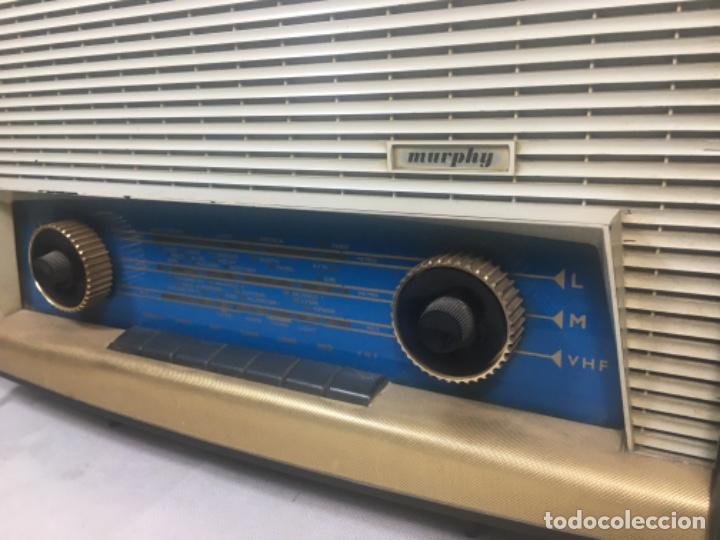 Radios de válvulas: Radio MURPHY U506. Gran Bretaña 1959. Funcionando - Foto 4 - 102799496