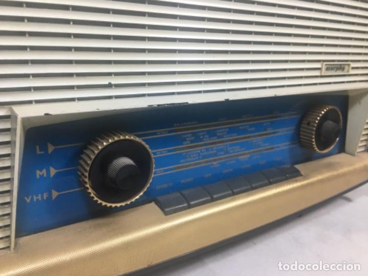 Radios de válvulas: Radio MURPHY U506. Gran Bretaña 1959. Funcionando - Foto 5 - 102799496