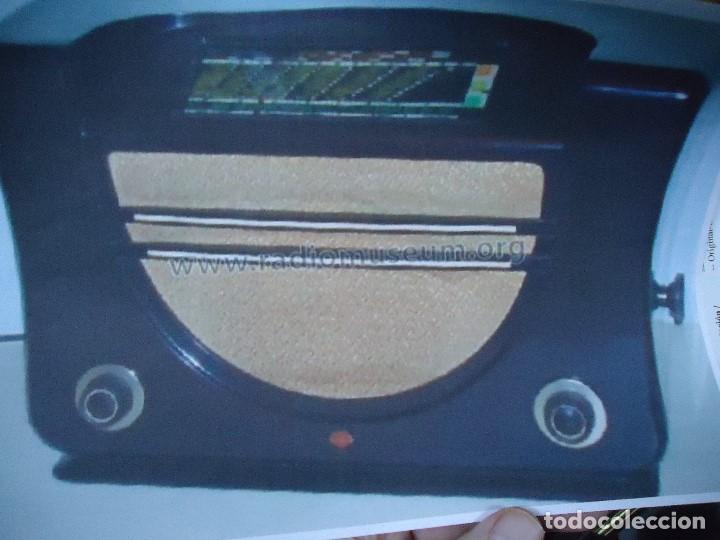 Radios de válvulas: preciosa RADIO MULLARD carcasa de vakelita año 1937 FUNCIONANDO funciona perfectamente tiene todo or - Foto 7 - 198228575