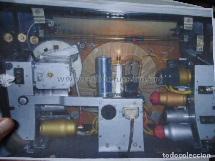 Radios de válvulas: preciosa RADIO MULLARD carcasa de vakelita año 1937 FUNCIONANDO funciona perfectamente tiene todo or - Foto 10 - 198228575