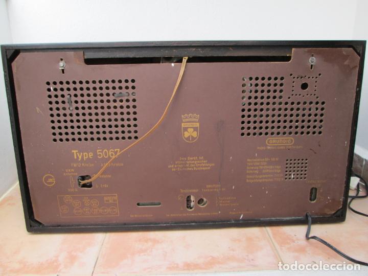 Radios de válvulas: Radio Grundig 5067 - Foto 2 - 198940770