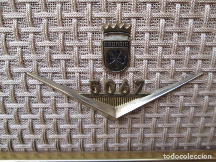 Radios de válvulas: Radio Grundig 5067 - Foto 4 - 198940770