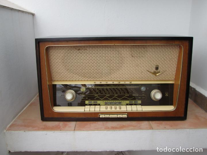 RADIO GRUNDIG 5067 (Radios, Gramófonos, Grabadoras y Otros - Radios de Válvulas)