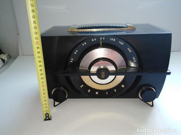 RADIO ANTIGUA ZENITH AMERICANA (Radios, Gramófonos, Grabadoras y Otros - Radios de Válvulas)