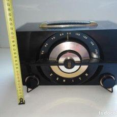Radios de válvulas: RADIO ANTIGUA ZENITH AMERICANA. Lote 200043426