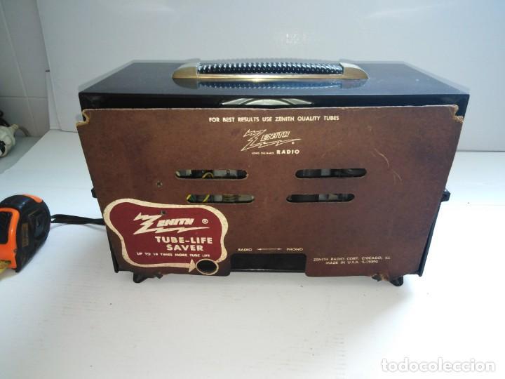 Radios de válvulas: radio antigua zenith americana - Foto 2 - 200043426