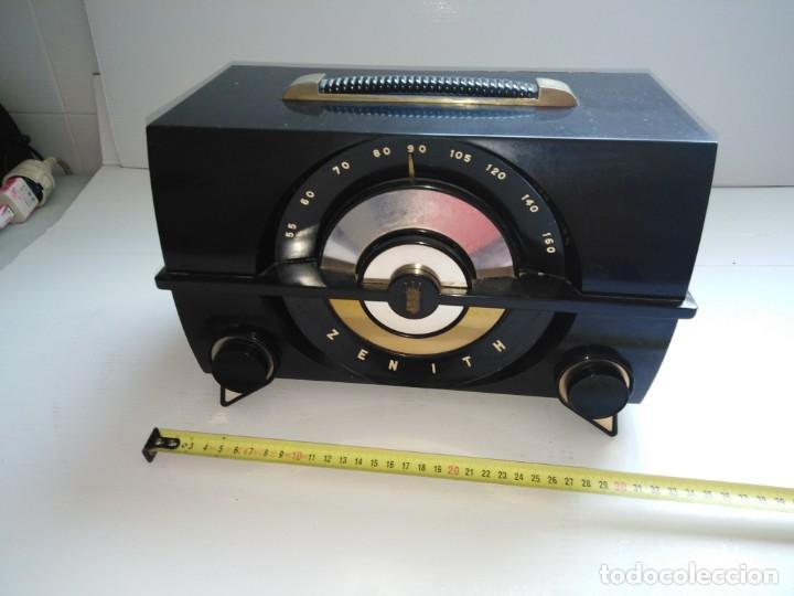 Radios de válvulas: radio antigua zenith americana - Foto 5 - 200043426