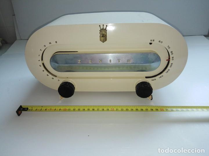 RADIO AMERICANA ANTIGUA ZENITH (Radios, Gramófonos, Grabadoras y Otros - Radios de Válvulas)