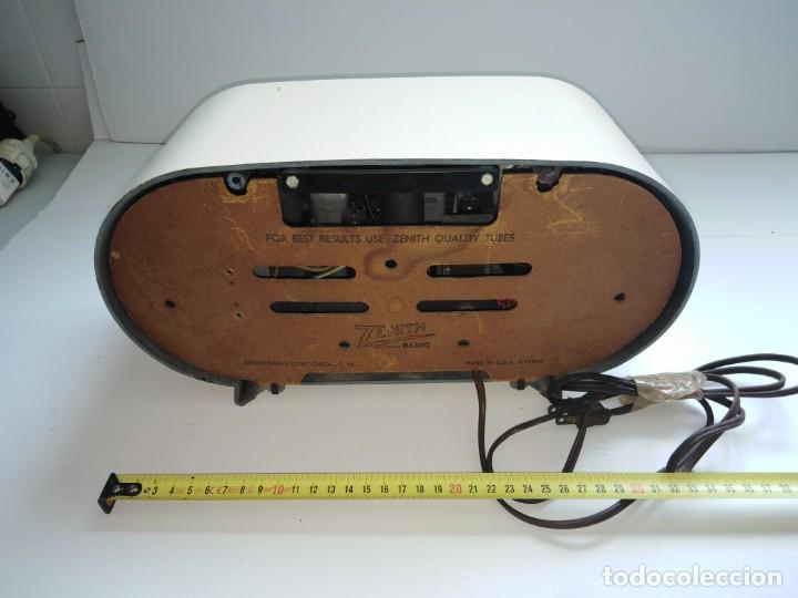 Radios de válvulas: radio americana antigua Zenith - Foto 2 - 200044345