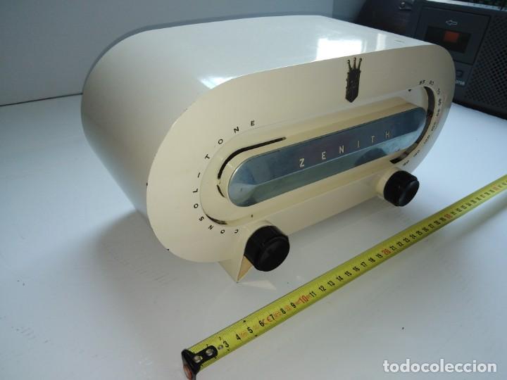 Radios de válvulas: radio americana antigua Zenith - Foto 3 - 200044345