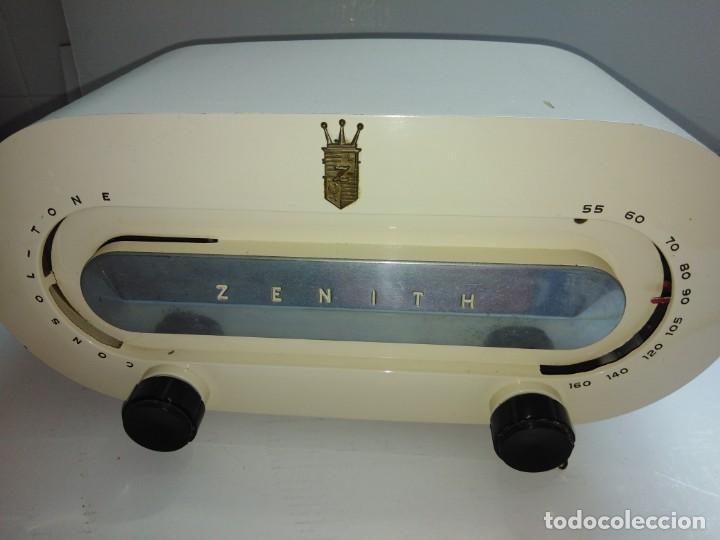 Radios de válvulas: radio americana antigua Zenith - Foto 4 - 200044345