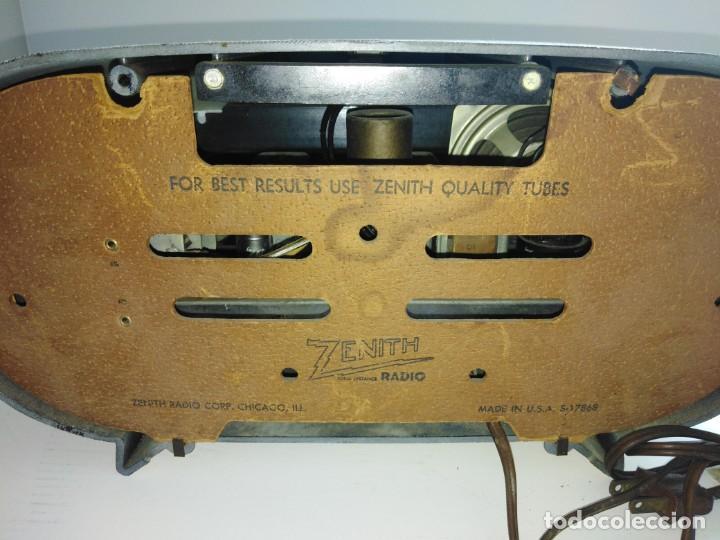 Radios de válvulas: radio americana antigua Zenith - Foto 5 - 200044345