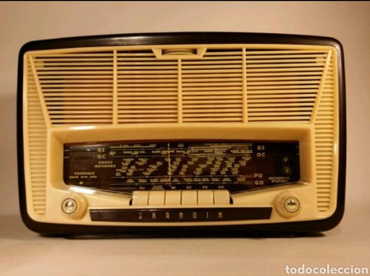 RADIO FRANCESA GRANDIN (RECOGER EN TIENDA) (Radios, Gramófonos, Grabadoras y Otros - Radios de Válvulas)