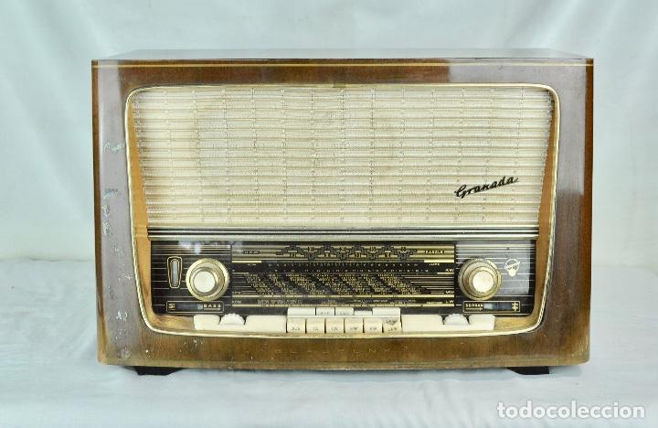 RADIO BLAUPUNKT GRANADA (Radios, Gramófonos, Grabadoras y Otros - Radios de Válvulas)