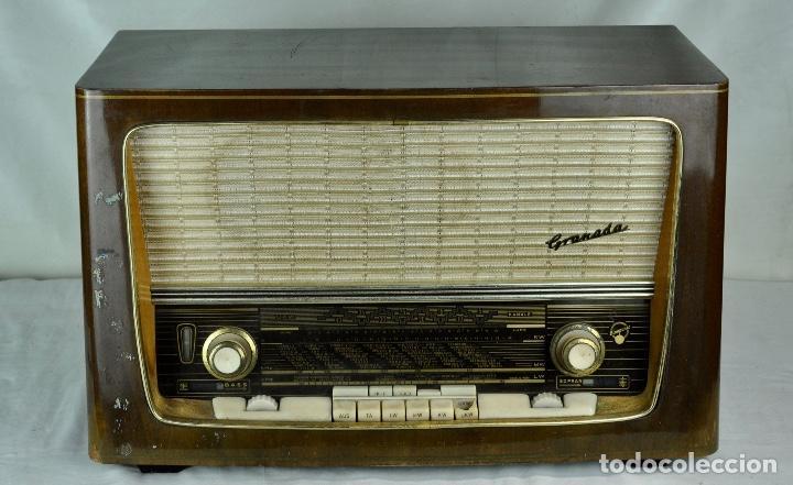 Radios de válvulas: Radio Blaupunkt Granada - Foto 5 - 201605927