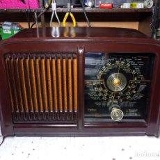 Radios de válvulas: ANTIGUA RADIO INVICTA CALIFORNIA ,MOD 5401. Lote 201742343