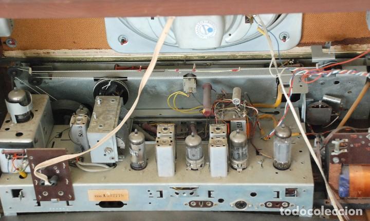 Radios de válvulas: Radio Valvulas Blaupunkt Granada De Luxe Type 2330 .Año 1957 - FUNCIONA - Foto 13 - 201801063