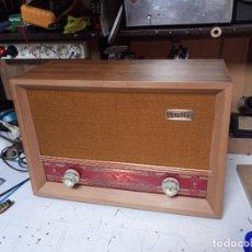 Radios de válvulas: ANTIGUA RADIO PHILIPS STELLA RESTAURADA. Lote 202868785