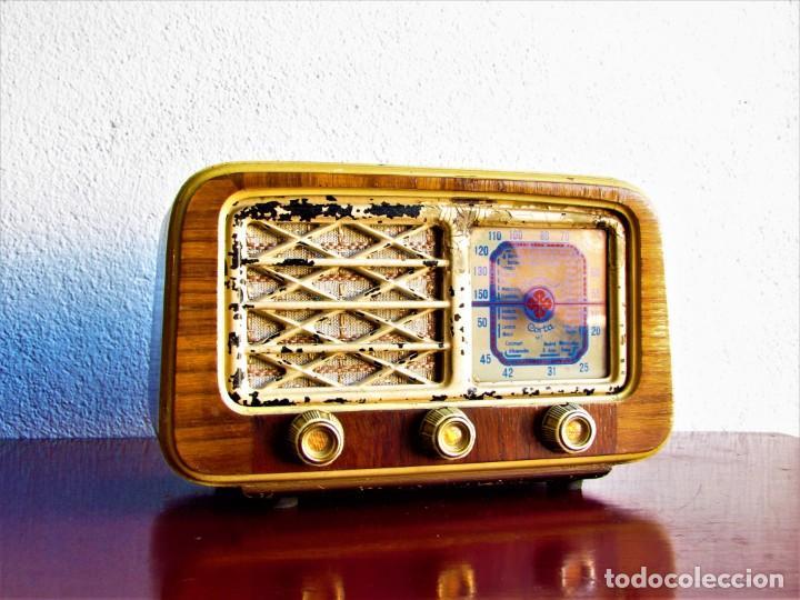 RADIO DE VALVULAS ESPAÑOLA (Radios, Gramófonos, Grabadoras y Otros - Radios de Válvulas)