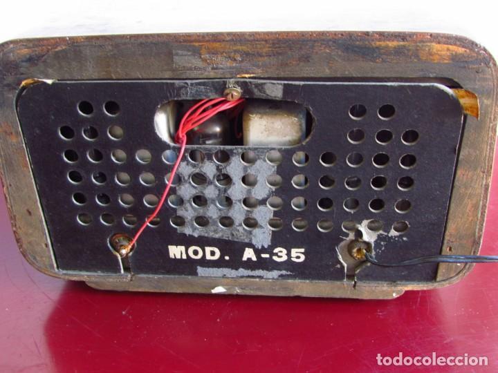Radios de válvulas: Radio de valvulas española - Foto 9 - 105298600