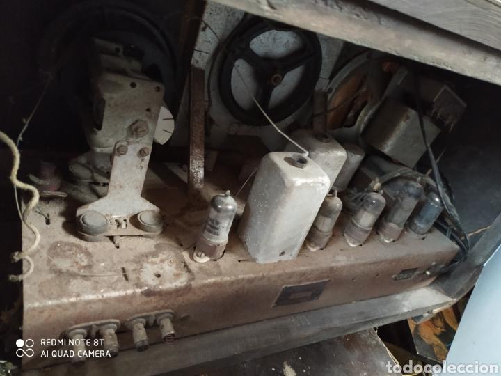 Radios de válvulas: Preciosa radio antigua - Foto 2 - 203238800