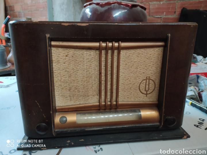 PRECIOSA RADIO ANTIGUA THOMSON (Radios, Gramófonos, Grabadoras y Otros - Radios de Válvulas)
