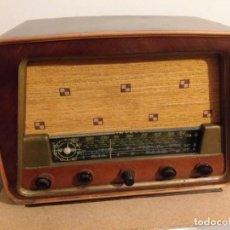 Radios de válvulas: RADIO INTER M. MIDWAY MADERA.. Lote 203934276