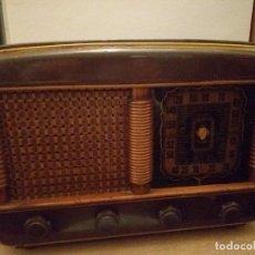 Radios de válvulas: RADIO INTER M. TIMON BAQUELITA.. Lote 203949565