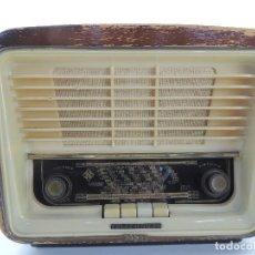 Radios de válvulas: ANTIGUA RADIO DE VALVULAS MARCA TELEFUNKEN MODELO SERENATA-57 U-1625-3D. Lote 204003102