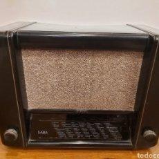 Radios de válvulas: ANTIGUA RADIO SABA 355WP. Lote 204512521