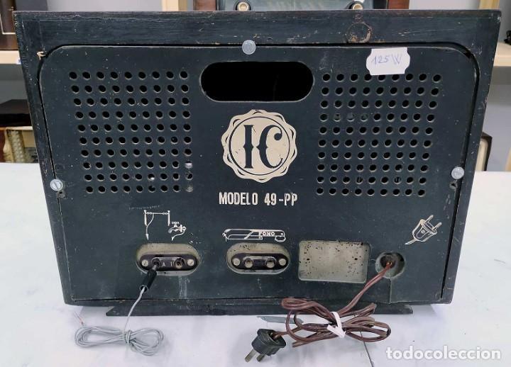 Radios de válvulas: ANTIGUA RADIO HANSUR. FUNCIONANDO. 125 V. ORIGINAL DE ÉPOCA. BUEN ESTADO. - Foto 5 - 205118657