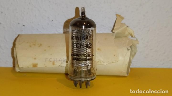 1 X ECH42-MINIWATT-NUEVA-NOS/NIB-TUBE. (Radios, Gramófonos, Grabadoras y Otros - Radios de Válvulas)