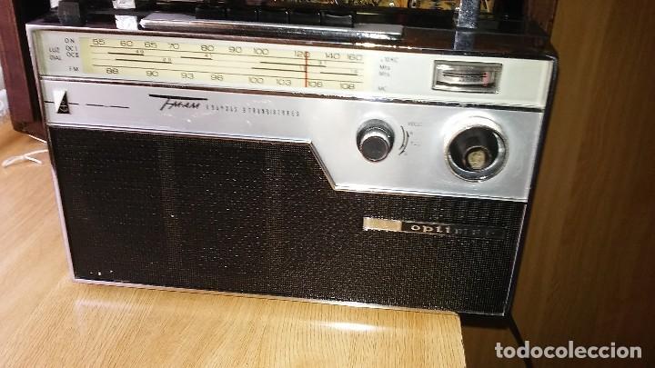 Radios de válvulas: Radio 4 bandas de transistores, marca OPTIMUS modelo FM9 - Foto 2 - 205321090