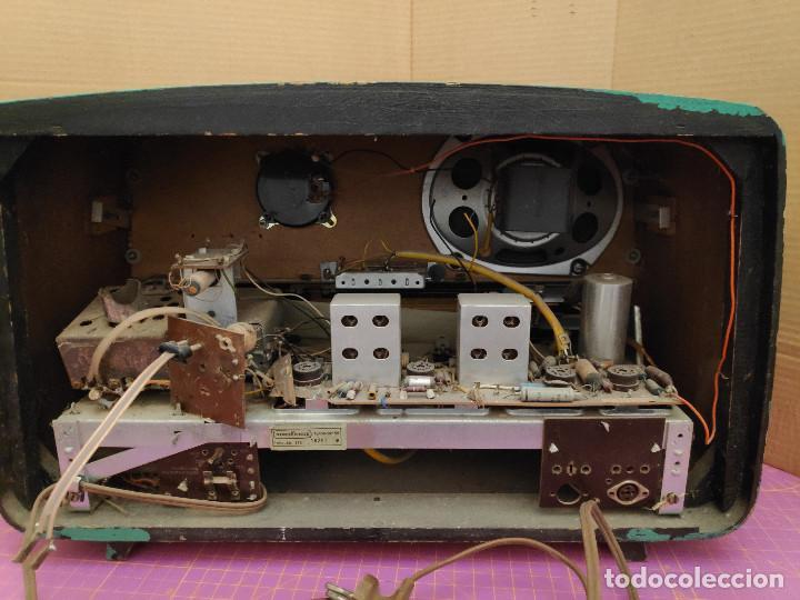 RADIO NORDMENDE TURANDOT 59 - NO FUNCIONA - PARA RESTAURAR (Radios, Gramófonos, Grabadoras y Otros - Radios de Válvulas)