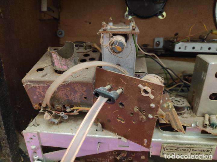 Radios de válvulas: Radio Nordmende Turandot 59 - No funciona - Para restaurar - Foto 2 - 205339596