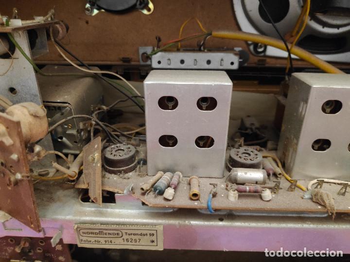 Radios de válvulas: Radio Nordmende Turandot 59 - No funciona - Para restaurar - Foto 3 - 205339596