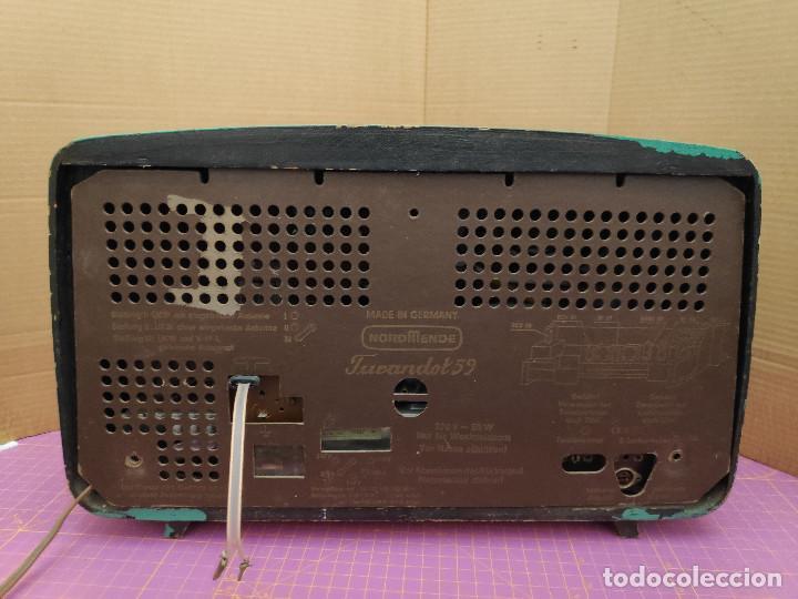 Radios de válvulas: Radio Nordmende Turandot 59 - No funciona - Para restaurar - Foto 6 - 205339596
