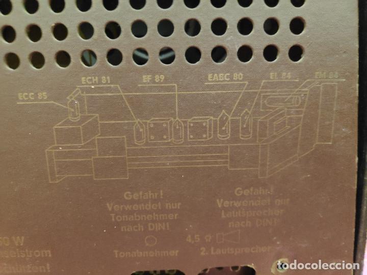 Radios de válvulas: Radio Nordmende Turandot 59 - No funciona - Para restaurar - Foto 7 - 205339596