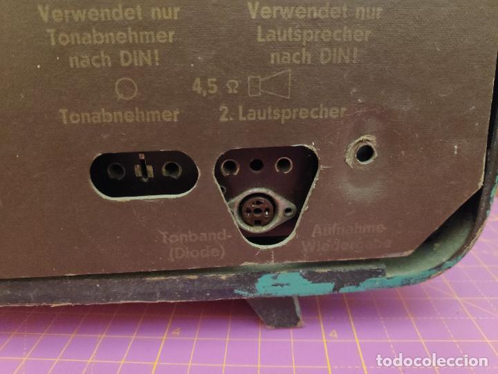 Radios de válvulas: Radio Nordmende Turandot 59 - No funciona - Para restaurar - Foto 11 - 205339596