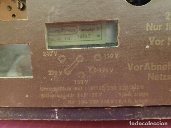 Radios de válvulas: Radio Nordmende Turandot 59 - No funciona - Para restaurar - Foto 12 - 205339596