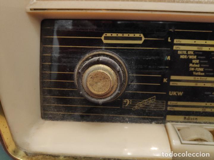 Radios de válvulas: Radio Nordmende Turandot 59 - No funciona - Para restaurar - Foto 17 - 205339596