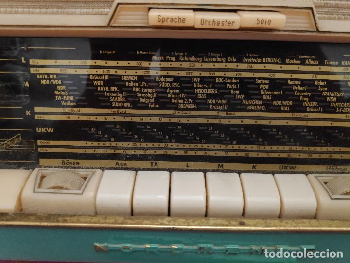Radios de válvulas: Radio Nordmende Turandot 59 - No funciona - Para restaurar - Foto 18 - 205339596