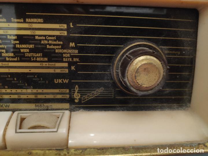 Radios de válvulas: Radio Nordmende Turandot 59 - No funciona - Para restaurar - Foto 19 - 205339596