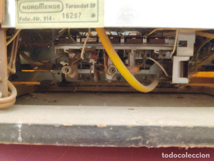 Radios de válvulas: Radio Nordmende Turandot 59 - No funciona - Para restaurar - Foto 21 - 205339596
