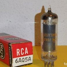 Radios de válvulas: 1 X 6AQ5A-EL90-RCA-NUEVA-NOS/NIB-TUBE.. Lote 205473842