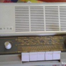 Radios de válvulas: RADIO ALEMÁN PHILIPS PHILETTA 12RB 263 FUNCIONANDO Y EN MUY BUEN ESTADO. Lote 205728118