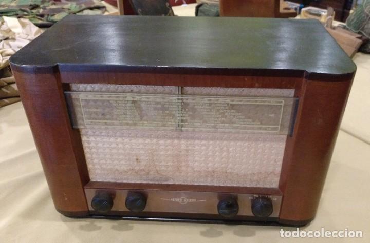 ANTIGUA RADIO DE VALVULAS DE LA MARCA AETHER KRUISER FUNCIONANDO PERFECTAMENTE. (Radios, Gramófonos, Grabadoras y Otros - Radios de Válvulas)
