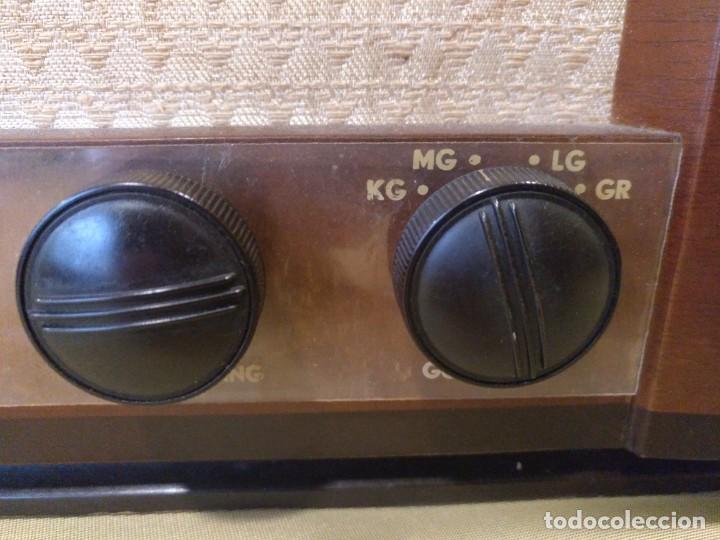 Radios de válvulas: ANTIGUA RADIO DE VALVULAS DE LA MARCA AETHER KRUISER FUNCIONANDO PERFECTAMENTE. - Foto 6 - 205827622