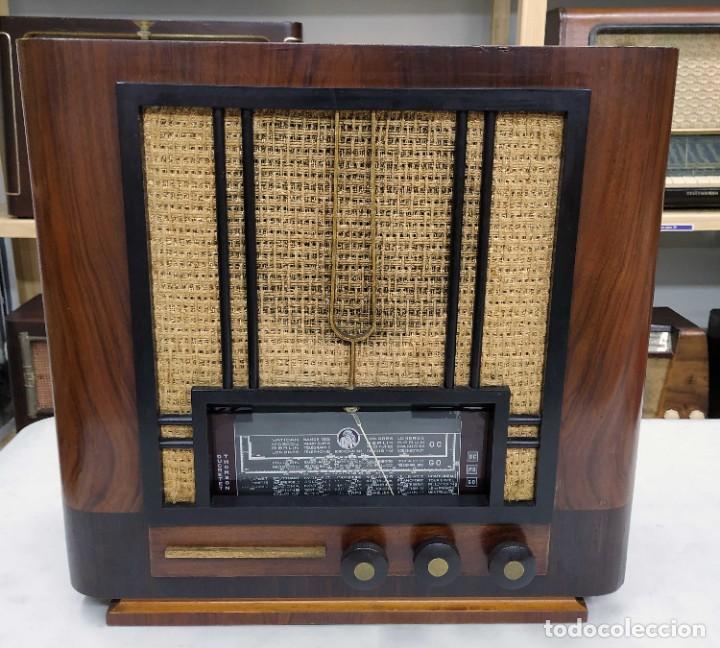 ANTIGUA RADIO THOMSON DUCRETET 924. FUNCIONANDO. 220 V. ORIGINAL DE ÉPOCA. AÑOS 30. (Radios, Gramófonos, Grabadoras y Otros - Radios de Válvulas)